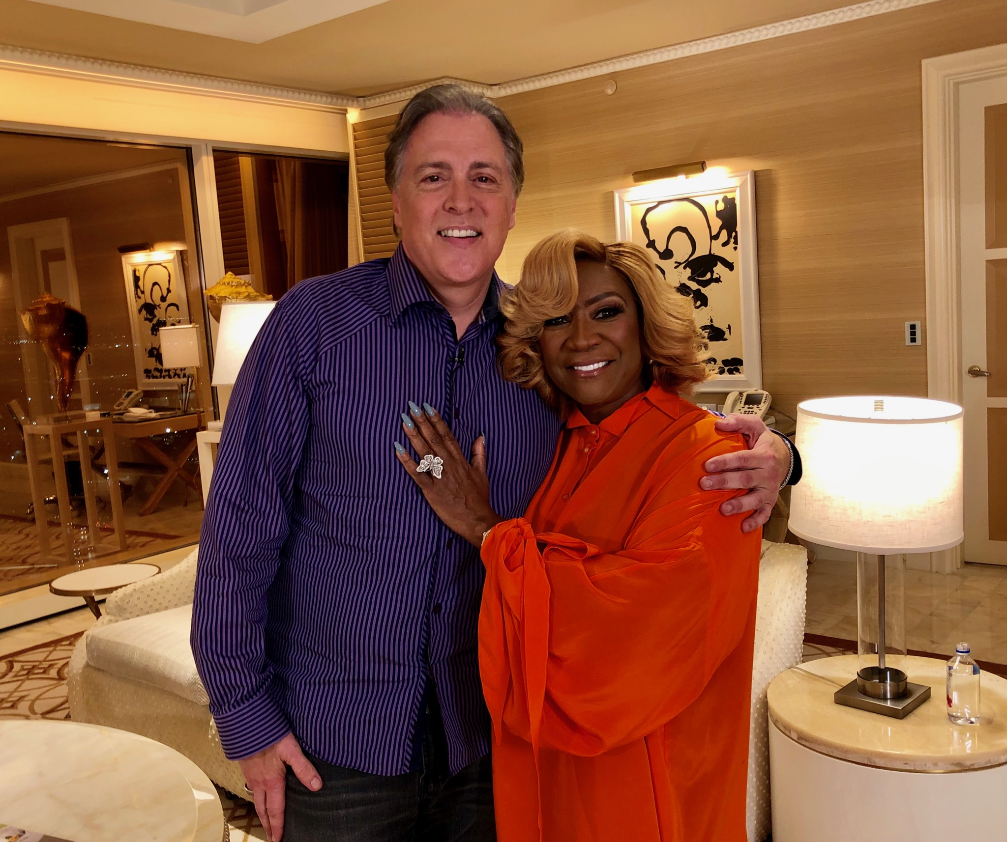 Dan Spends Some Quality Time with Patti LaBelle